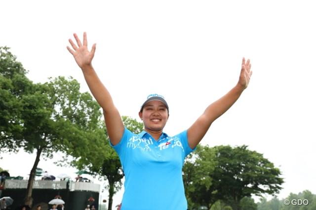 鈴木愛は堂々の賞金2位で「全英リコー女子オープン」の切符をゲット