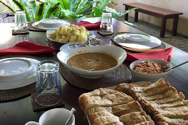 スリランカの朝食 スリランカでの朝食は優しい味でした