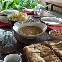 スリランカでの朝食は優しい味でした スリランカの朝食
