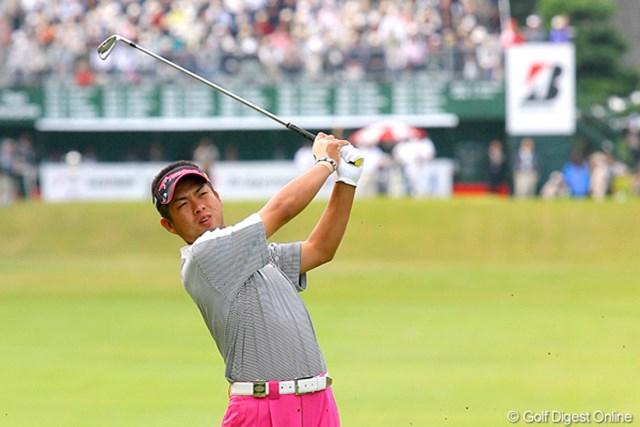 池田勇太/ブリヂストンオープン2日目 連日の「67」をマークし、首位タイに浮上した池田勇太