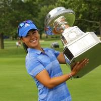 メジャーの大舞台でツアー初勝利を飾ったダニエル・カン 2017年 KPMG女子PGA選手権 最終日 ダニエル・カン