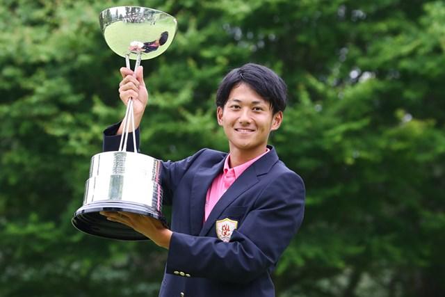 2017年 日本アマチュアゴルフ選手権 大澤和也 単独首位から出た大澤和也が粘りのゴルフで初タイトルを奪取!(提供:日本ゴルフ協会)