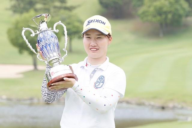 2017年 ECCレディス ゴルフトーナメント 最終日 石川明日香 石川明日香が完全優勝を遂げた