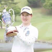 石川明日香が完全優勝を遂げた 2017年 ECCレディス ゴルフトーナメント 最終日 石川明日香