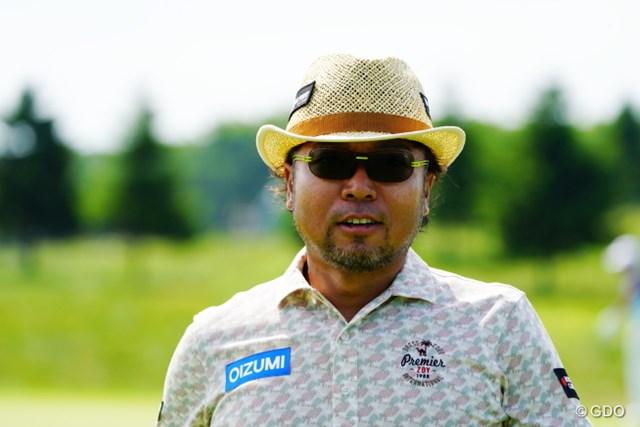 2017年 長嶋茂雄招待セガサミーカップ 最終日 片山晋呉 なぜか連日のアップ写真をアップアップ。