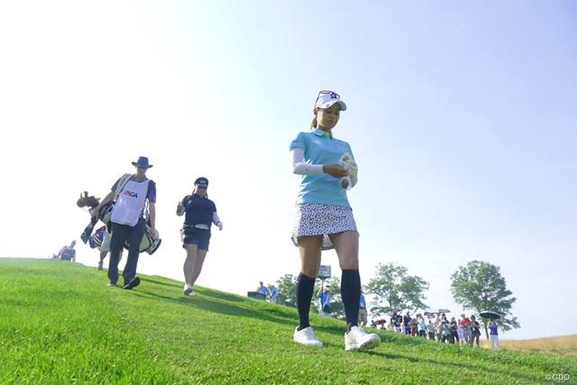 2017年 全米女子オープン 初日 宮里藍 宮里藍はイーブンパーで初日を終えた
