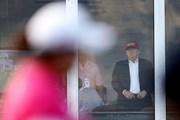2017年 全米女子オープン 3日目 ドナルド・トランプ米大統領