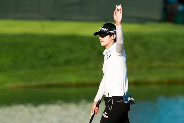 パク・ソンヒョン 1打差の2位発進を決めたパク・ソンヒョン※撮影は全米女子オープン(USGA)