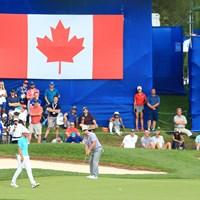 今季初勝利へ向け、首位に浮上したチャーリー・ホフマン(Vaughn Ridley/Getty Images) 2017年 RBCカナディアンオープン 3日目 チャーリー・ホフマン