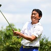 羽川豊が首位発進を決めた 2017年 マルハンカップ 太平洋クラブシニア 初日 羽川豊