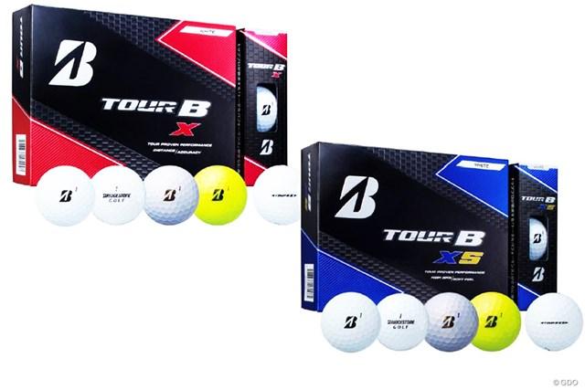10月6日の発売が発表された「ブリヂストンゴルフ ツアーB X/XS」