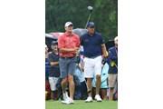 2017年 全米プロゴルフ選手権 事前 スティーブ・ストリッカー フィル・ミケルソン ショートパンツ