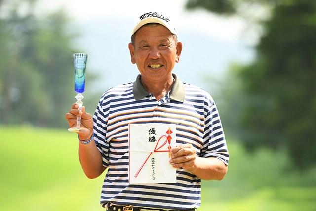 2017年 エリートグリップ シニアオープンゴルフ 最終日  汪徳昌 汪徳昌がツアー参戦3年目で初優勝を挙げた※画像:大会提供
