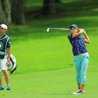山田成美はバーディで池ポチャ5連発の悪夢を払拭 2017年 NEC軽井沢72ゴルフトーナメント 2日目 山田成美