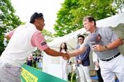 2017年 ネスレマッチプレーレクサス杯 初日 片山晋呉&トム・ワトソン