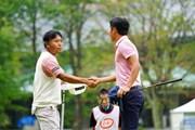 2017年 ネスレマッチプレーレクサス杯 初日 片山晋呉&小鯛竜也