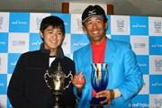 2009年 マイナビABCチャンピオンシップゴルフトーナメント 最終日 鈴木亨と息子の貴之君