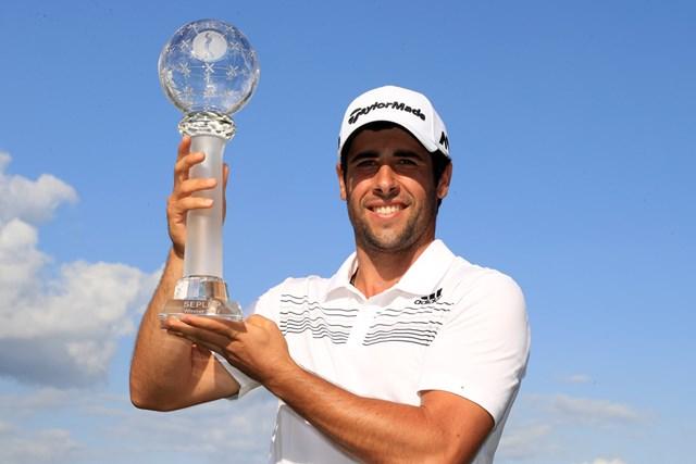 欧州ツアー初優勝を飾ったスペインのオタエギ(Matthew Lewis/Getty Images)