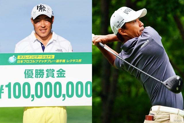 2017年 ネスレマッチプレーレクサス杯 最終日 賞金1億円を獲得した藤本と、決勝で接戦を繰り広げた小平