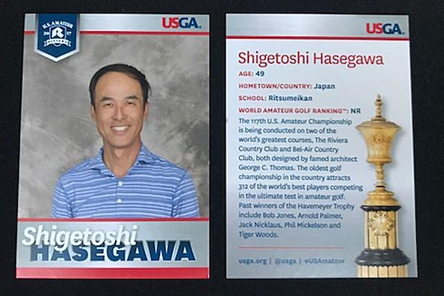 2017年 全米アマチュア選手権 地区予選会 長谷川滋利 元大リーガーの長谷川滋利は地区予選会を勝ち上がって「全米アマ」出場権を獲得した(USGA/Chris Keane)