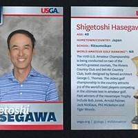 元大リーガーの長谷川滋利は地区予選会を勝ち上がって「全米アマ」出場権を獲得した(USGA/Chris Keane) 2017年 全米アマチュア選手権 地区予選会 長谷川滋利