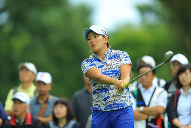 2017年 ニトリレディスゴルフトーナメント 初日 成田美寿々 ステディなゴルフでノーボギーのナイスプレーでした。