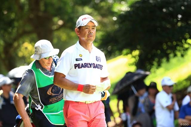 2017年 RIZAP KBCオーガスタゴルフトーナメント 初日 藤田寛之 ベテランの味で2位タイ