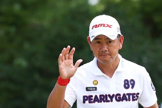 2017年 RIZAP KBCオーガスタゴルフトーナメント 初日 藤田寛之 まだまだやりますよ