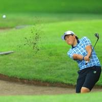単独3位に浮上です。 2017年 ニトリレディスゴルフトーナメント 2日目 工藤遥加