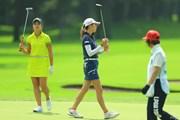 2017年 ニトリレディスゴルフトーナメント 2日目 大西葵 金田久美子