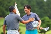2017年 RIZAP KBCオーガスタゴルフトーナメント 2日目 深堀圭一郎