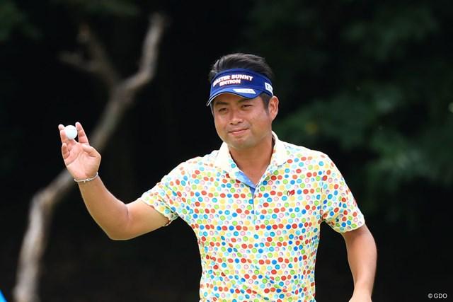 今季初優勝を狙う池田勇太
