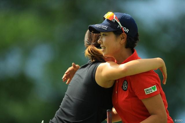 2017年 ニトリレディスゴルフトーナメント 3日目 森田理香子 今日のラウンドは復活の狼煙ですね。