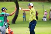 2017年 RIZAP KBCオーガスタゴルフトーナメント 3日目 上井邦裕