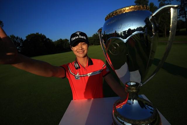 全米女子オープンに続く勝利を挙げたパク・ソンヒョン(Vaughn Ridley/Getty Images)