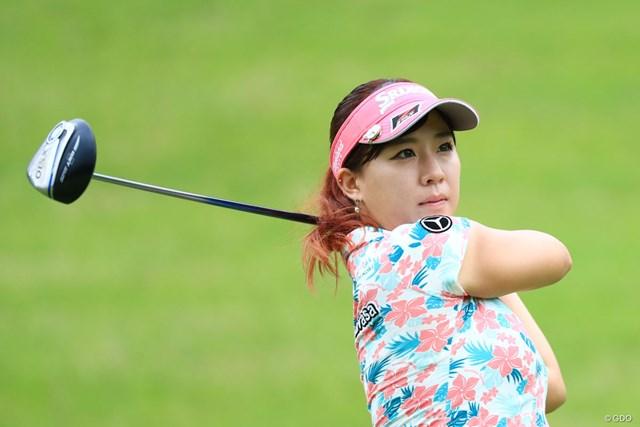 2017年 日本女子オープンゴルフ選手権 最終予選 香妻琴乃 本選出場権を手にした香妻琴乃※画像は17年「CATレディース」