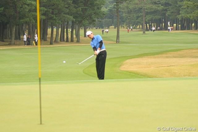 7番パー5でイーグルを奪った金庚泰は、ツアー優勝が待たれる選手の一人だ