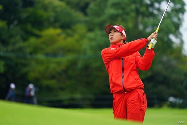 2017年 ゴルフ5レディス プロゴルフトーナメント 初日 木戸愛 木戸愛が今季初の首位発進を決めた