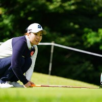 「お願いボールさん!こらえて!」 2017年 ゴルフ5レディス プロゴルフトーナメント 2日目 井上沙紀