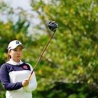 本日アンダーパー、立派。 2017年 ゴルフ5レディス プロゴルフトーナメント 2日目 井上沙紀