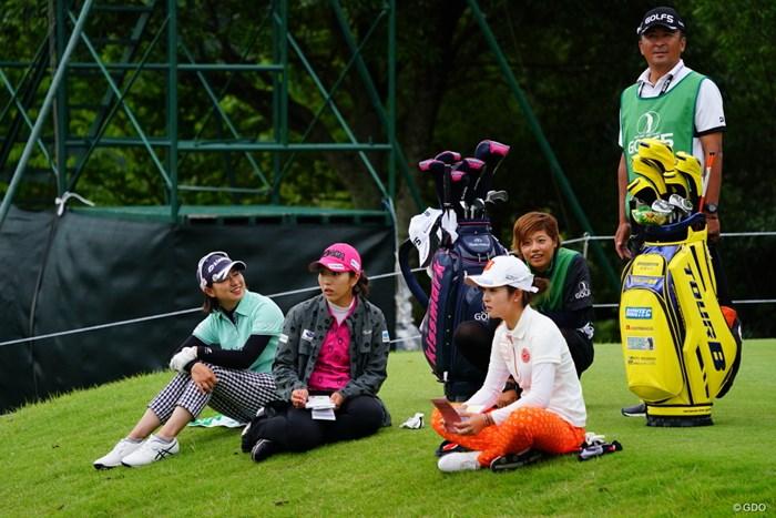もう待ち待ちでやってらんねーって? 2017年 ゴルフ5レディス プロゴルフトーナメント 2日目 川満陽香理