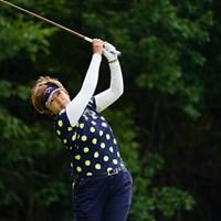 難しいコースでも難なくパープレー。 2017年 ゴルフ5レディス プロゴルフトーナメント 2日目 福嶋浩子