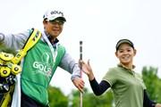 2017年 ゴルフ5レディス プロゴルフトーナメント 2日目 森井菖 梅原敦