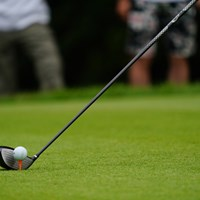 ティーの高さは標準的。 2017年 ゴルフ5レディス プロゴルフトーナメント 最終日 O.サタヤ