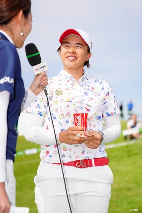 笑顔は可愛く、眉毛は太く。 2017年 ゴルフ5レディス プロゴルフトーナメント 最終日 O.サタヤ