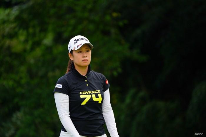 ほんとに賢そうなお顔。 2017年 ゴルフ5レディス プロゴルフトーナメント 最終日 小橋絵利子