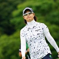 サングラスかけるとトンボに似てる。 2017年 ゴルフ5レディス プロゴルフトーナメント 最終日 川満陽香理
