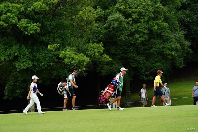 2017年 ゴルフ5レディス プロゴルフトーナメント 最終日 表純子 表夫婦と下川夫婦。どっちが強い?