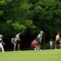 表夫婦と下川夫婦。どっちが強い? 2017年 ゴルフ5レディス プロゴルフトーナメント 最終日 表純子