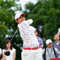 ツアー3勝目を挙げたO.サタヤ 2017年 ゴルフ5レディス プロゴルフトーナメント 最終日 O.サタヤ